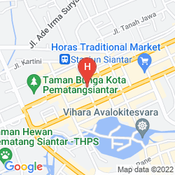 Mapa SWISS-BELINN MEDAN