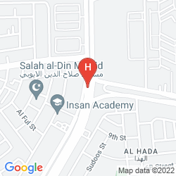 Mapa HOLIDAY INN AL KHOBAR