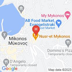 Mapa PORTO MYKONOS