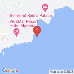 Mapa THE LINCE MADEIRA LIDO ATLANTICO GREAT HOTEL