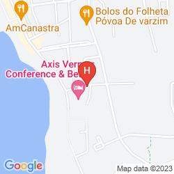 Mapa AXIS VERMAR CONFERENCE & BEACH