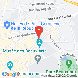 Mapa QUALITY HOTEL PAU CENTRE BOSQUET
