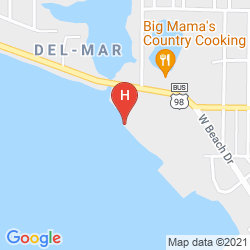 Mapa BUCCANEER BEACH MOTEL