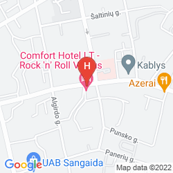 Mapa COMFORT HOTEL LT
