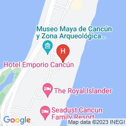Mapa EMPORIO CANCUN