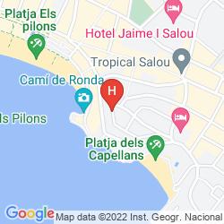 Mapa PARADIS