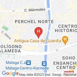 Mapa NH MALAGA
