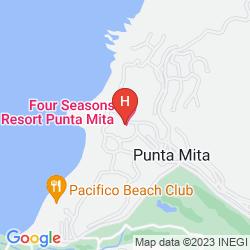 Mapa FOUR SEASONS RESORT PUNTA MITA