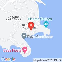 Mapa RAINTREE'S VILLA VERA, PUERTO MIO ZIHUATANEJO