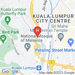 Mapa THE MAJESTIC HOTEL KUALA LUMPUR, AUTOGRAPH COLLECTION