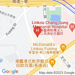 Mapa FULLON HOTEL LINKOU