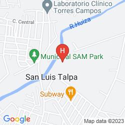 Mapa QUALITY HOTEL REAL AEROPUERTO