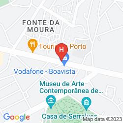Mapa PORTO PALACIO HOTEL & SPA - S.HOTELS COLLECTION
