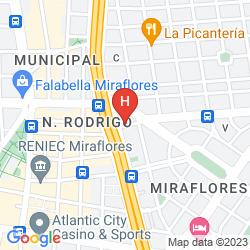 Mapa STEFANOS HOTEL