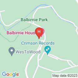 Mapa BALBIRNIE HOUSE