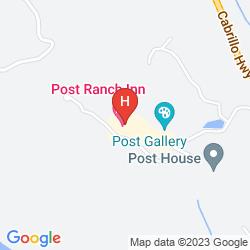 Mapa POST RANCH INN