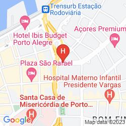 Mapa UMBU HOTEL PORTO ALEGRE