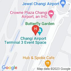 Mapa AMBASSADOR TRANSIT HOTEL - TERMINAL 3