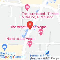 Mapa THE MIRAGE