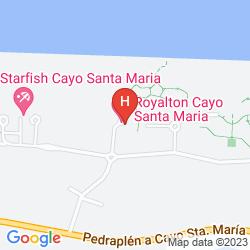 Mapa ROYALTON CAYO SANTA MARIA