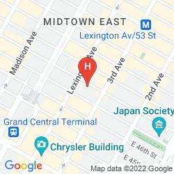 Mapa RESIDENCE INN NEW YORK MANHATTAN/MIDTOWN EAST