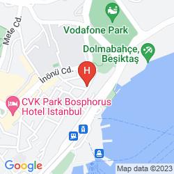 Mapa TAXIMTOWN GUMUSSUYU RESIDENCE