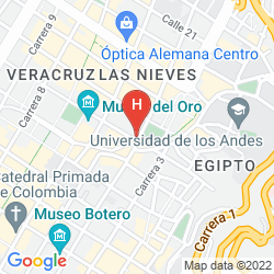 Mapa BH BICENTENARIO HOTEL