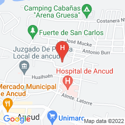 Mapa PANAMERICANA HOTEL ANCUD