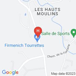 Mapa RESIDENCE VACANCES BLEUES LE CHATEAU DE CAMIOLE