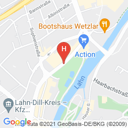 Mapa BEST WESTERN HOTEL WETZLAR