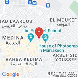 Mapa RIAD AMSSAFFAH