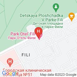 Mapa AST GOF PARK HOTEL