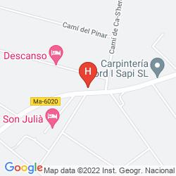 Mapa SON JULIA COUNTRY HOUSE