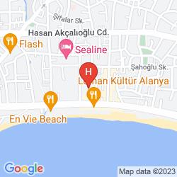 Mapa BELLA BRAVO SUITE HOTEL