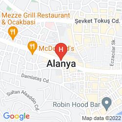 Mapa CLUB SIDAR