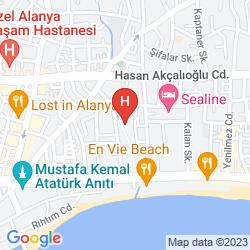 Mapa PINAR HOTEL