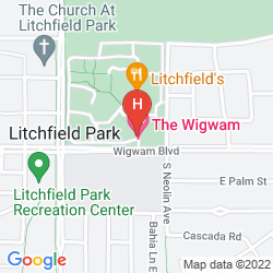 Mapa WIGWAM RESORT