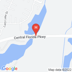 Mapa THE RITZ-CARLTON ORLANDO GRANDE LAKES