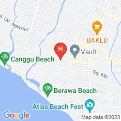 Mapa LALASA VILLAS