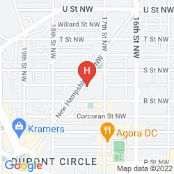 Mapa KIMPTON CARLYLE HOTEL DUPONT CIRCLE
