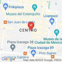 Mapa HOSTEL AMIGO