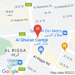 Mapa SWISSOTEL AL GHURAIR DUBAI