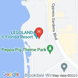 Mapa LEGOLAND HOTEL
