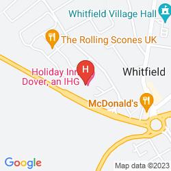 Mapa RAMADA DOVER HOTEL