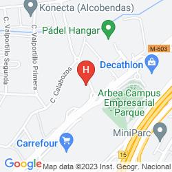 Mapa IBIS MADRID ALCOBENDAS
