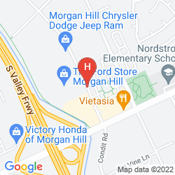 Mapa HOLIDAY INN EXPRESS HOTEL & SUITES SAN JOSE MORGAN HILL