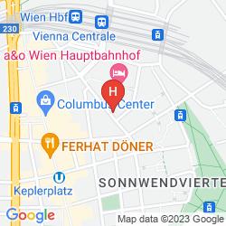 Mapa ZEITGEIST VIENNA