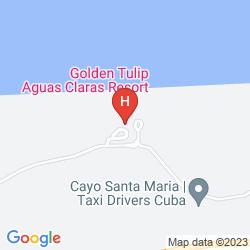 Mapa GOLDEN TULIP AGUAS CLARAS RESORT
