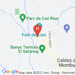 Mapa BALNEARIO TERMES VICTORIA