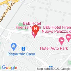 Mapa VIVA HOTEL ALEXANDER NOVOLI
